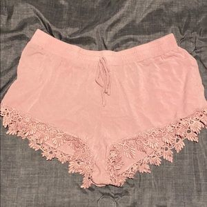 Pants - Pink Summer Shorts